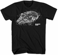 Star Wars Millennium Revealed t-shirt men black pre-order