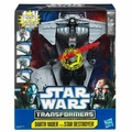 Star Wars Transformers Darth Vader to Star Destroyer Deluxe Action Figure