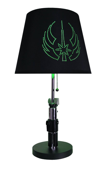star wars yoda lightsaber lamp urban collector. Black Bedroom Furniture Sets. Home Design Ideas