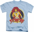 Starfire kids t-shirt DC Comics light blue