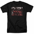 Suicide Squad t-shirt Black And White And Red All Over mens Black