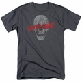 Suicide Squad t-shirt Skull mens Charcoal