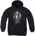 Suicide Squad youth teen hoodie bad girl black