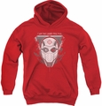 Suicide Squad youth teen hoodie i am the way red
