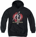 Suicide Squad youth teen hoodie katana flower black