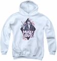 Suicide Squad youth teen hoodie mad love white