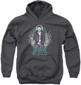 Suicide Squad youth teen hoodie suicide joker charcoal