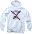 Suicide Squad youth teen hoodie taskforce white