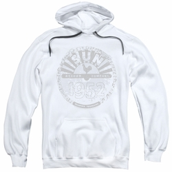 Sun Records pull-over hoodie Crusty Logo adult white