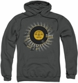 Sun Records pull-over hoodie Established adult charcoal