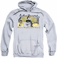 Sun Records pull-over hoodie Sun Record Company adult athletic heather