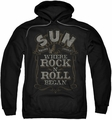 Sun Records pull-over hoodie Where Rock Began adult black