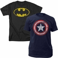 Superhero and Comic Shirts