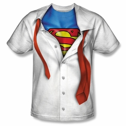 I'm Superman front sublimation costume t-shirt mens white