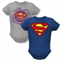 Superman infant baby snapsuits