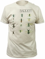 Syd Barrett barrett fitted jersey tee vintage white t-shirt pre-order