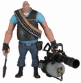 Team Fortress BLU Heavy action figure