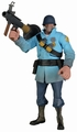 Team Fortress BLU Soldier action figure