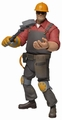 Team Fortress Series 3 Red Engineer action figure