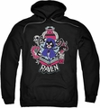 Teen Titans Go pull-over hoodie Raven adult black