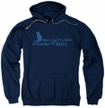 Tender Vittles pull-over hoodie Come And Get Em adult navy