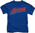 The Atom kids t-shirt DC Comics royal