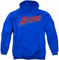 The Atom pull-over hoodie Superhero adult royal blue