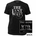 The Band fitted jersey t-shirt The Last Waltz  mens black