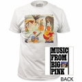 The Band t-shirt Big Pink mens white pre-order
