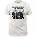 The Damned fitted jersey t-shirt Neat Neat Neat mens white pre-order