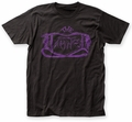 The Damned Logo fitted jersey tee black mens pre-order