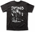 The Damned New Rose adult tee black mens pre-order