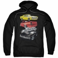 The Fast & Furious pull-over hoodie Muscle Car Splatter adult charcoal