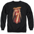 The Flash adult crewneck sweatshirt CW TV Flash Ave black