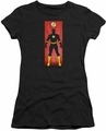 The Flash juniors t-shirt Block black