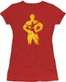 The Flash juniors t-shirt Knockout red