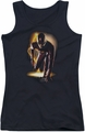 The Flash juniors tank top Ready black
