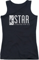 The Flash juniors tank top S.T.A.R. black