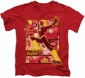The Flash kids t-shirt Barry red