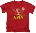 The Flash kids t-shirt Crimson Comet red