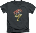 The Flash kids t-shirt Desaturated charcoal
