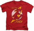 The Flash kids t-shirt Flash Bolt red