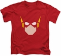 The Flash kids t-shirt Head red