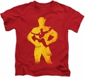 The Flash kids t-shirt Knockout red