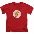 The Flash kids t-shirt Logo Distressed red