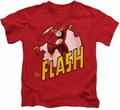 The Flash kids t-shirt On the Run red