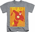 The Flash kids t-shirt Simple Poster athletic heather