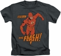 The Flash kids t-shirt Whirlwind charcoal