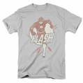 The Flash Lightning Fast mens t-shirt