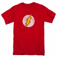 The Flash Logo Distressed mens t-shirt